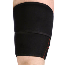 X592, Compression Thigh Wrap, Front View
