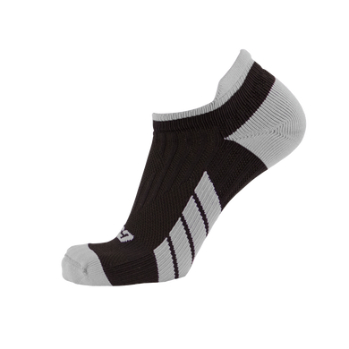 CSX X100 Low Cut Silver on Black Ankle Socks PRO