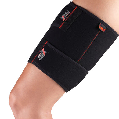 Side View of X592 Compression Thigh Wrap