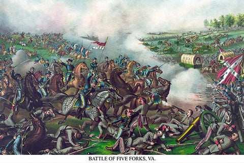 Battle of Five Forks, Virginia