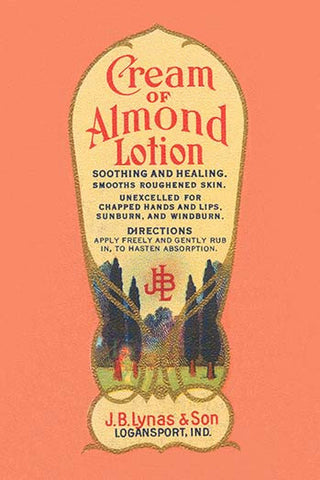 Cream of Almond Lotion