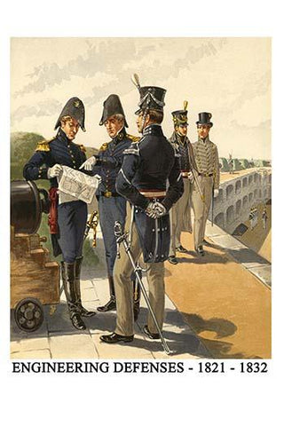 Engineering Defenses - 1821 - 1832