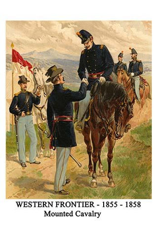 Western Frontier - 1855 - 1858 - Mounted Cavalry