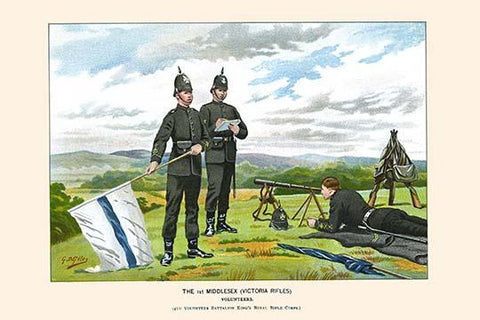 1st Middlesex Victorian Rifles - Volunteers