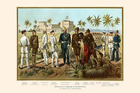 German East Africa Colonial Troops