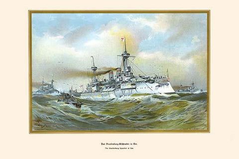 Brandenburg Squadron at Sea