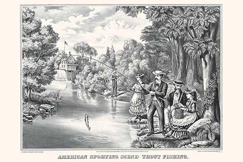 American Sporting Scene: Trout Fishing