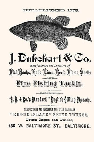 J. Dukehart & Co. Fine Fishing Tackle