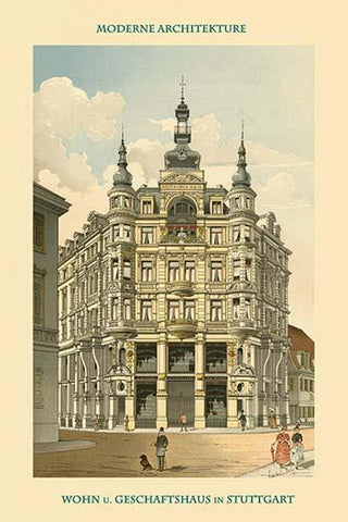 Deutscheshaus - Apartment Building & Retail Businesses