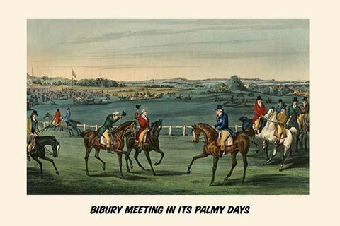 Bibury Meeting in its Palmy Days