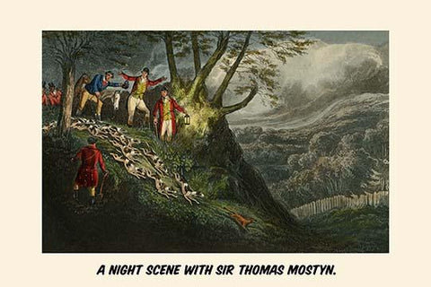 A Night Scene with Sir Thomas Mostyn
