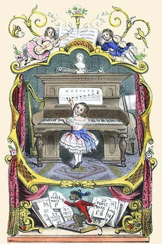 "Frontispiece to ""The Home First Number & Music Book"""