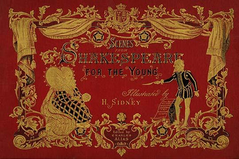 "Book Cover ""Scenes -Shakespeare For The Young"""