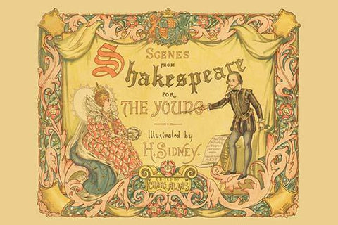 "Frontispiece ""Scenes -Shakespeare For The Young"""