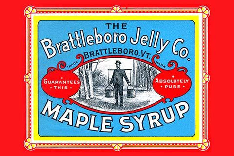 Brattleboro Jelly Co. Maple Syrup
