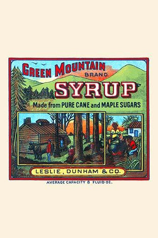 Green Mountain Brand Syrup