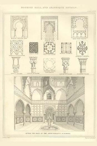Moorish Hall & Arabesque