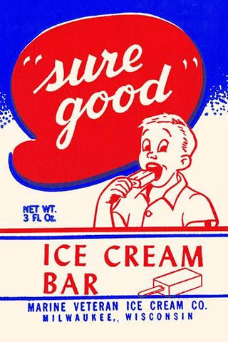 Sure Good Ice Cream bar