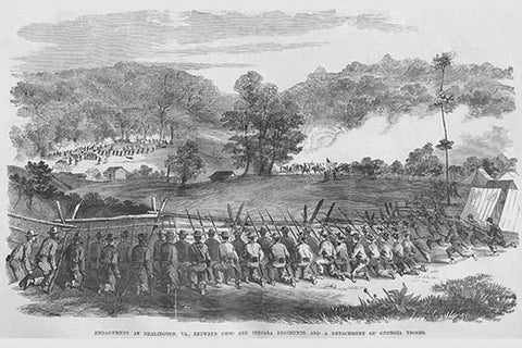 Engagement at Bealington, Virginia