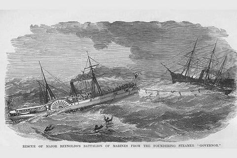 "Rescue of the Steamer ""Governor"""
