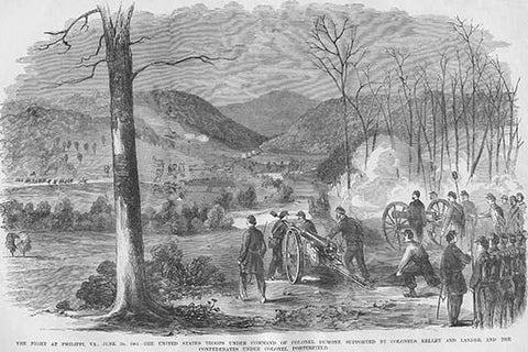 Battle of Philippi under Colonel Dumont