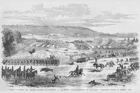 Battle of Belmont, Missouri - Grant Vs. Polk