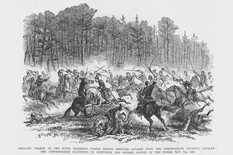 Cavalry Engagement with JEB Stuart