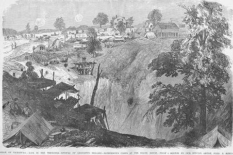 Siege of Vicksburg - Life in the Trenches