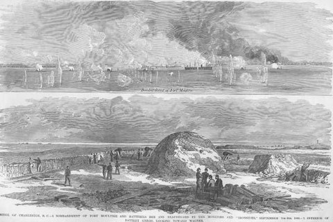 Siege of Charleston - Fort Moultrie