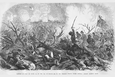 Capture of Fort De Russy, Louisiana under General Andrew Jackson Smith
