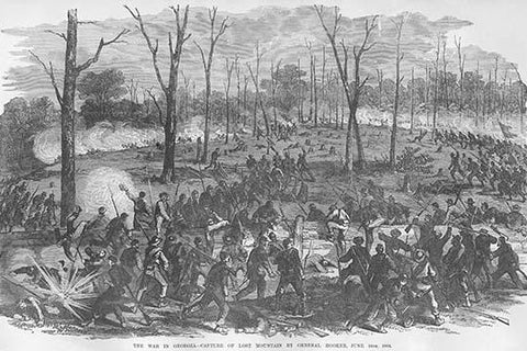 Capture of Lost Mountain, Georgia by General Hooker
