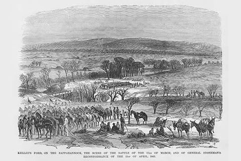 Stoneman's Reconnaissance at the Battle of Kelley's Ford