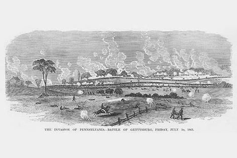 Invasion of Pennsylvania - Battle of Gettysburg