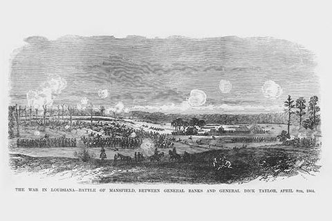 Battle of Mansfield Between Banks and Dick Taylor