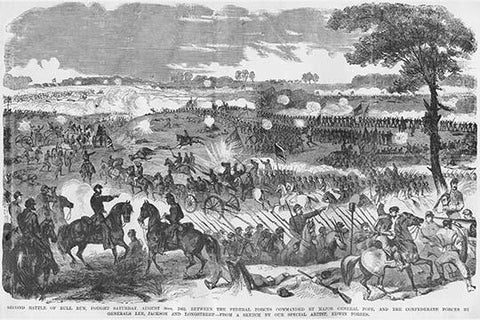Battle of 2nd Manassas or Second Bull Run