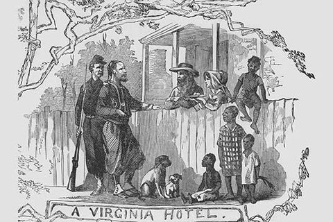 African Americans at a Virginia Hotel