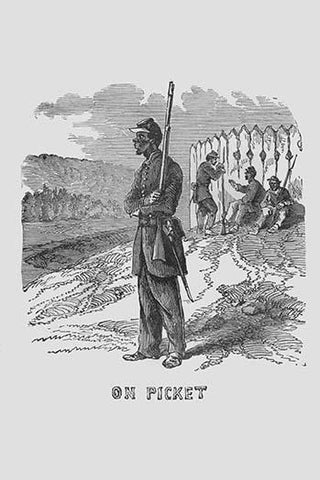 African Americans as Pickets