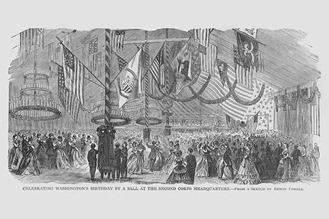 Washington's Birthday Ball at 2nd Corps Headquarters
