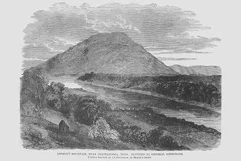 Lookout Mountain Occupied by General Rosecrans