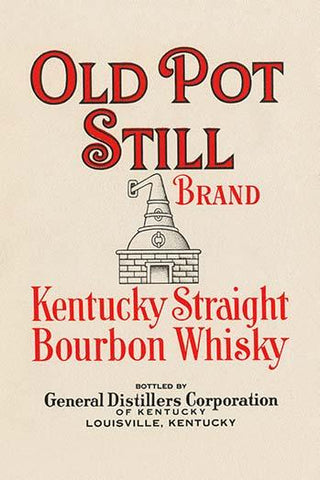 Old Pot Still Brand Kentucky Straight Bourbon Whisky