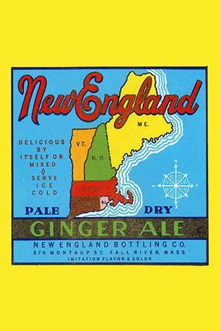 New England Pale Dry Ginger Ale