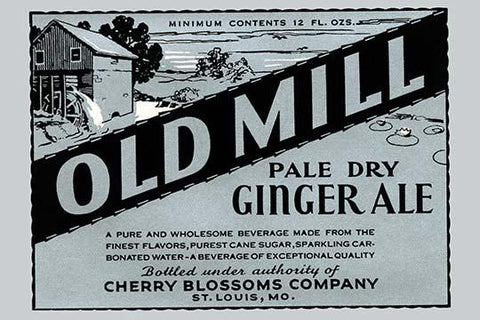 Old Mill Pale Dry Ginger Ale