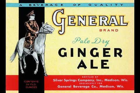General Brand Pale Dry Ginger Ale