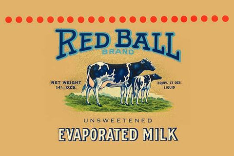 Red Ball Brand Unsweetened Evaporated Milk