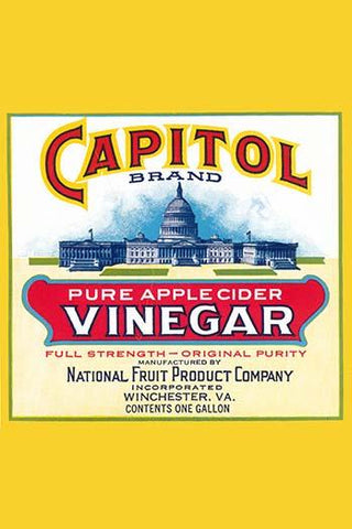 Capitol Brand Pure Apple Cider Vinegar