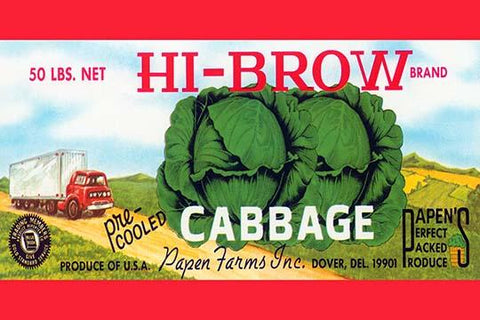 Hi-Brow Cabbage