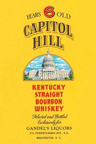 Capitol Hill Kentucky Straight Bourbon Whiskey