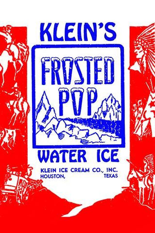 Lein's Frosted Pop Water Ice