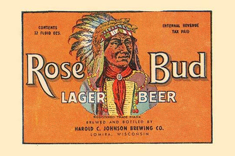 Rose Bud Lager Beer