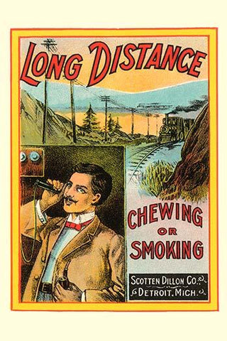 Long Distance Chewing or Smoking Tobacco